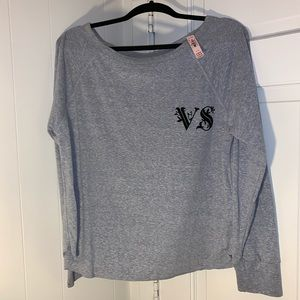 NWT Victoria Secret LS Sleep Shirt Lg